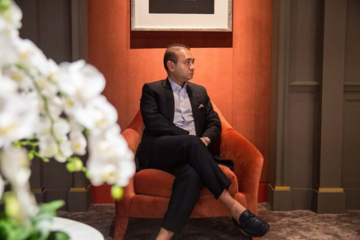 Nirav Modi in 2017. Thejeweler has lost an extradition case in Britain's high court.