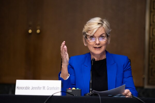 Jennifer M. Granholm could face challenges in managing the sprawling Energy Department.