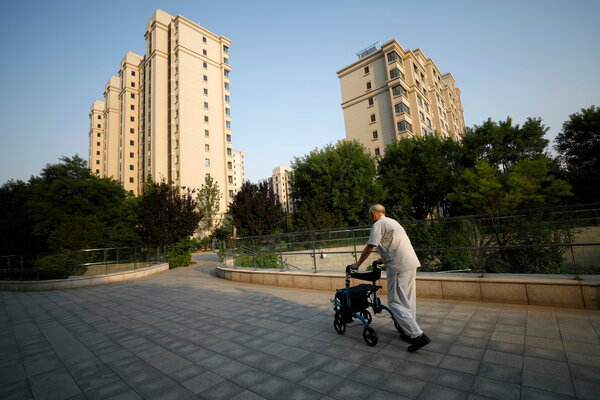 By 2025, more than 300 million people in China will be 60 or older, according to the Chinese government.