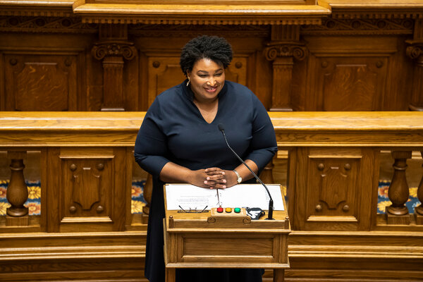 Stacey Abrams, the voting rights activist and 2018 Democratic nominee for governor, may challenge Gov. Brian Kemp again in 2022.