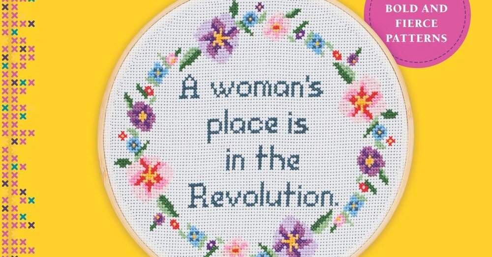 Language, Please! Salty Feminist Stitch Book Is Too Much for Michaels.