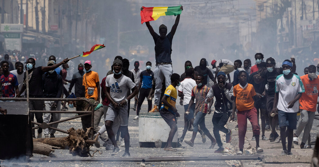 Senegal Erupts in Protests, With a Rape Charge Only the Spark