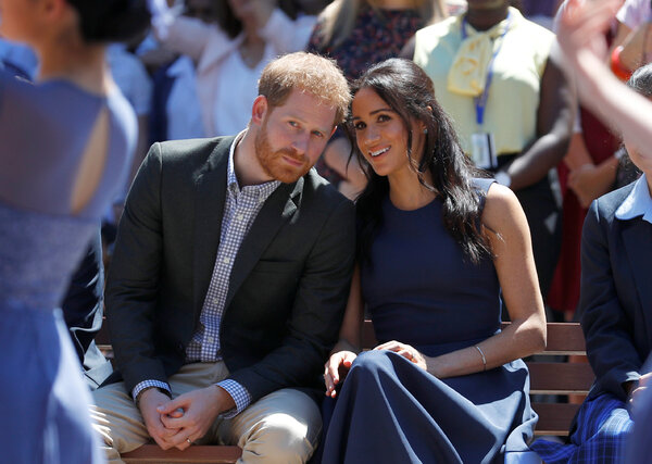 Megan, Duchess of Sussex and Prince Harry, Duke of Sussex, in Australia in 2018.