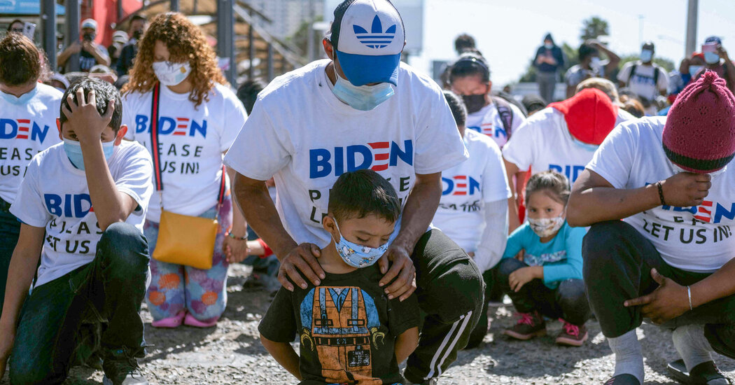 President Biden Faces Challenge From Surge of Migrants at the Border