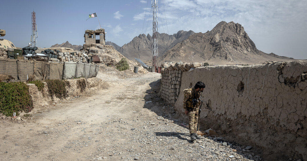 In One Afghanistan District, an Unofficial Cease-Fire With the Taliban