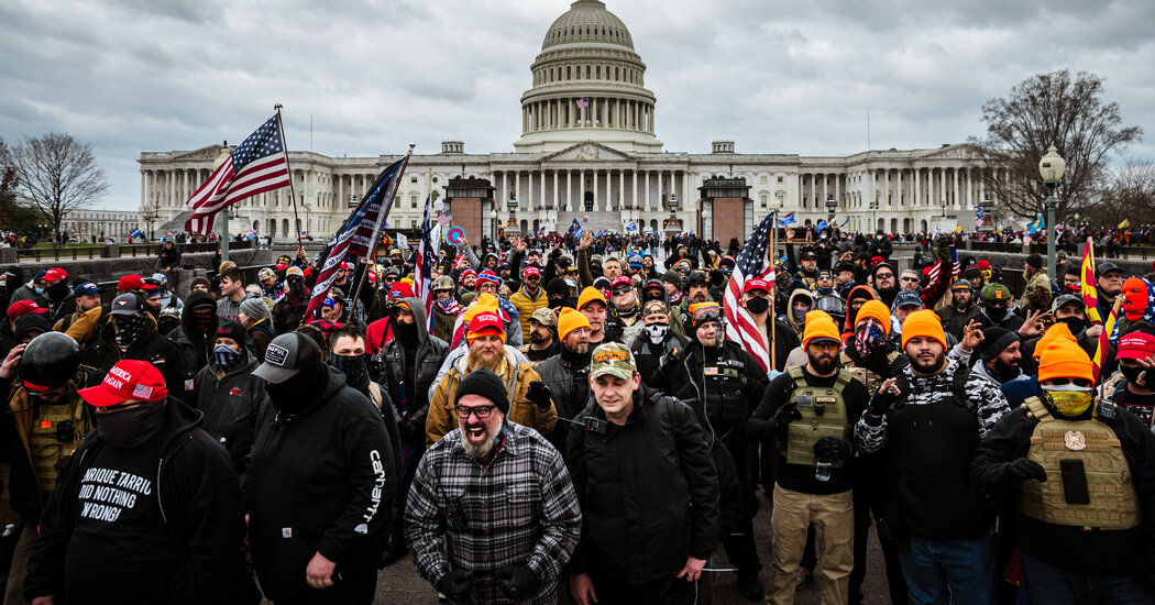 Police Shrugged Off the Proud Boys, Until They Attacked the Capitol