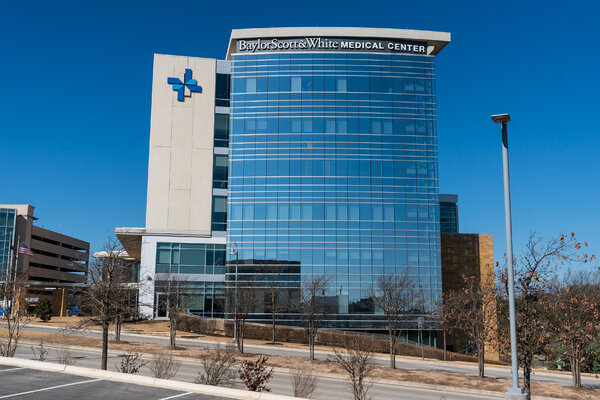 The Baylor, Scott and White Medical Center in Austin that treated Mr. Druschitz.