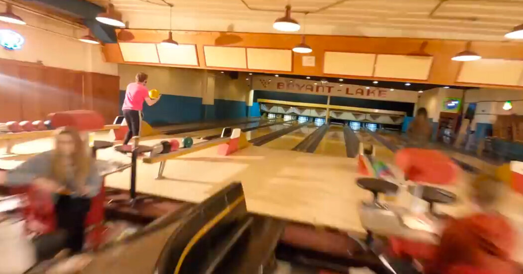 Drone Video of Bowling Alley Wins Praise From Hollywood
