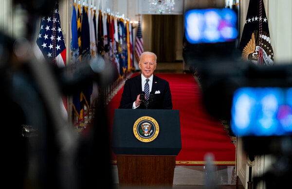 President Biden's promise of a return to a semblance of normalcy by the Fourth of July depends on the American public continuing to wear masks, maintain social distancing rules and getting vaccinated.