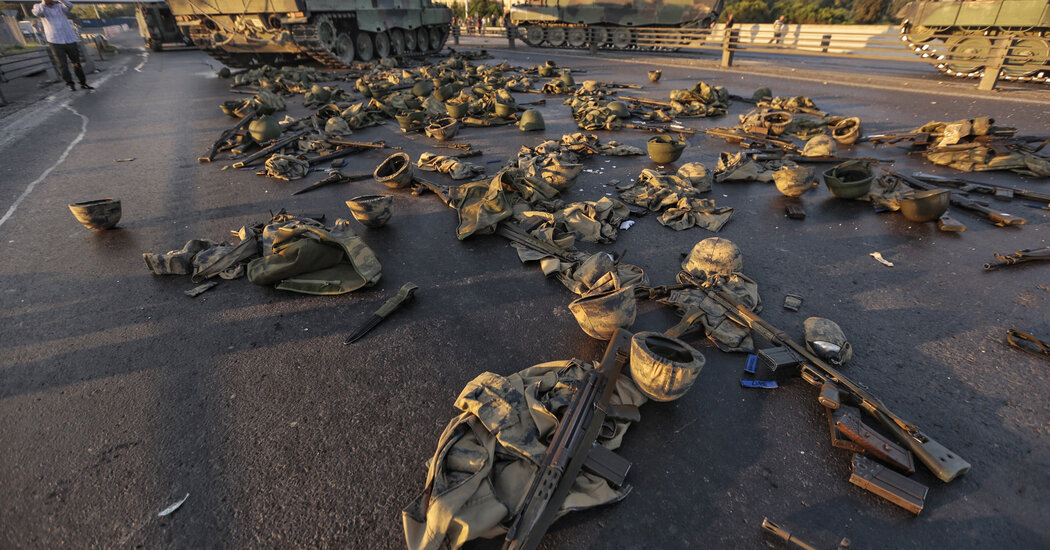 In Turkey's Failed Coup, Trainees Face the Same Stiff Punishments as Generals