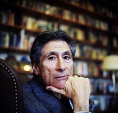 "Edward Said, at his office at Columbia, seven months before his death in 2003. Timothy Brennan's biography, ""Places of Mind,"" draws on an imposing array of material to write the first comprehensive portrait of one of America's most distinguished postwar intellectuals."