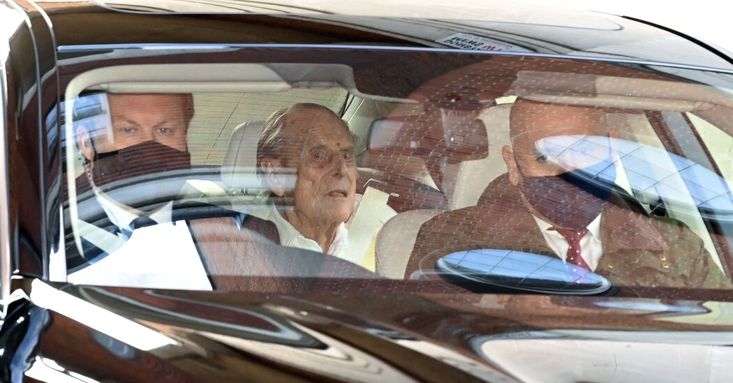 Prince Philip Leaves London Hospital