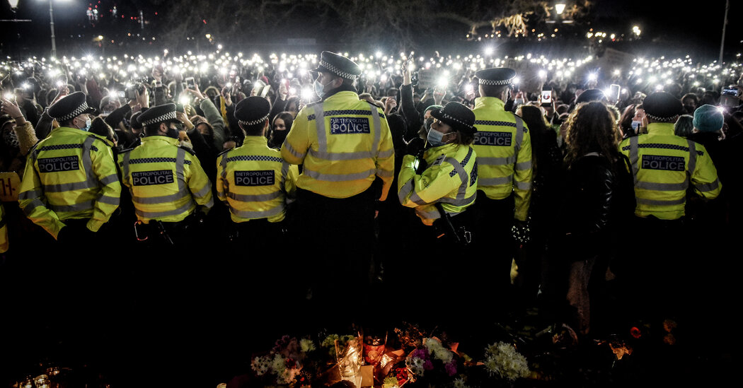 Sarah Everard Vigil: Anger Churns Over Police Tactics at Gathering in London