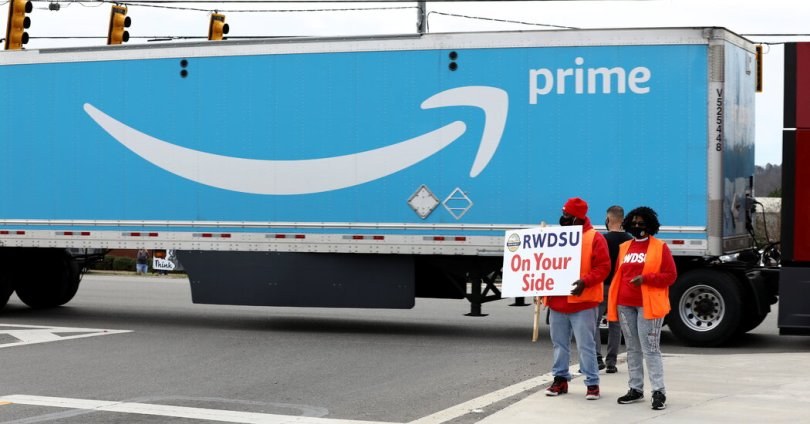 What To Know About the Amazon Unionization Vote