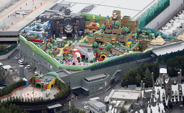 The theme park opened after a state of emergency ended in the Osaka area.