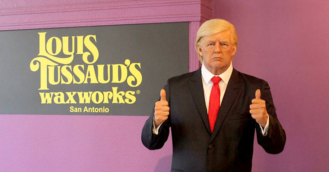 After Being Scratched and Punched, Trump Wax Figure Is Removed