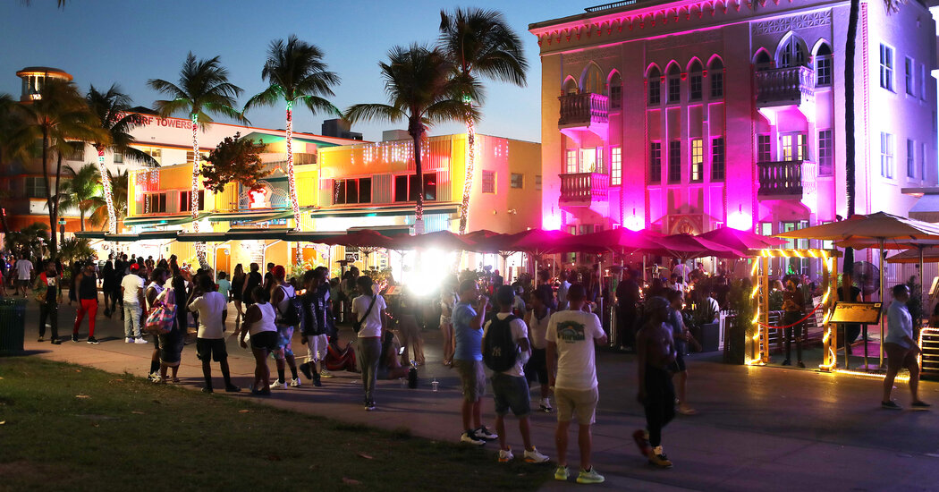 Miami Beach to spring breakers: No more late-night partying.