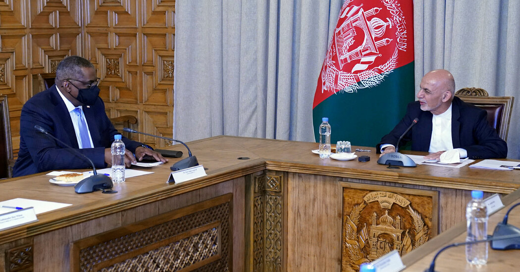 U.S. Defense Secretary Makes Secret Visit to Afghanistan