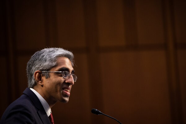 Dr. Vivek Murthy will return as surgeon general at a critical moment, as the president tries to steer the nation out of the worst public health crisis in a century.
