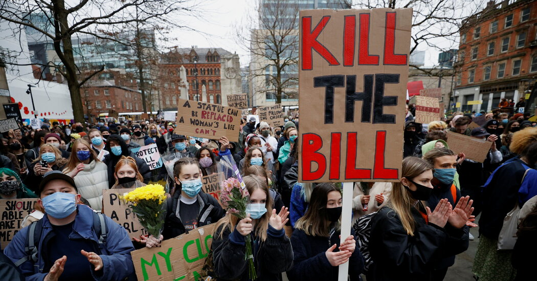 What Are the 'Kill the Bill' Protests in Britain All About?