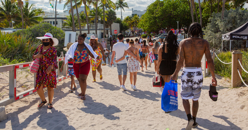 How Miami Lifted Covid-19 Restrictions and Then Came the Crackdown