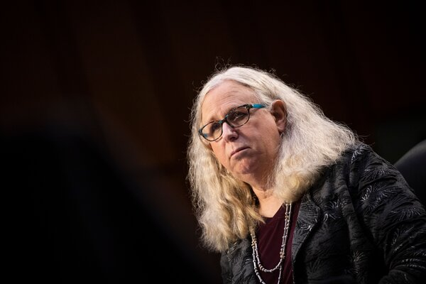 Dr. Rachel Levine is the first openly transgender person to receive Senate confirmation to a federal position.