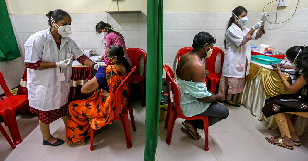 India Cuts Back on Vaccine Exports as Infections Surge
