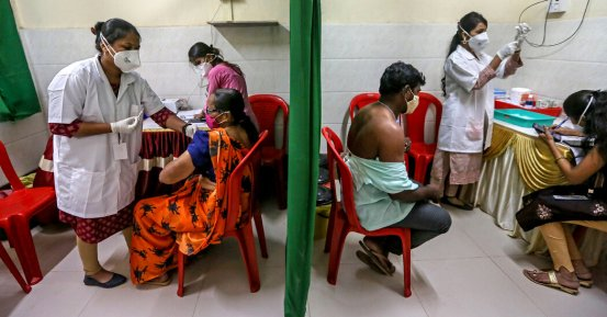 India reduces vaccine exports as infections increase