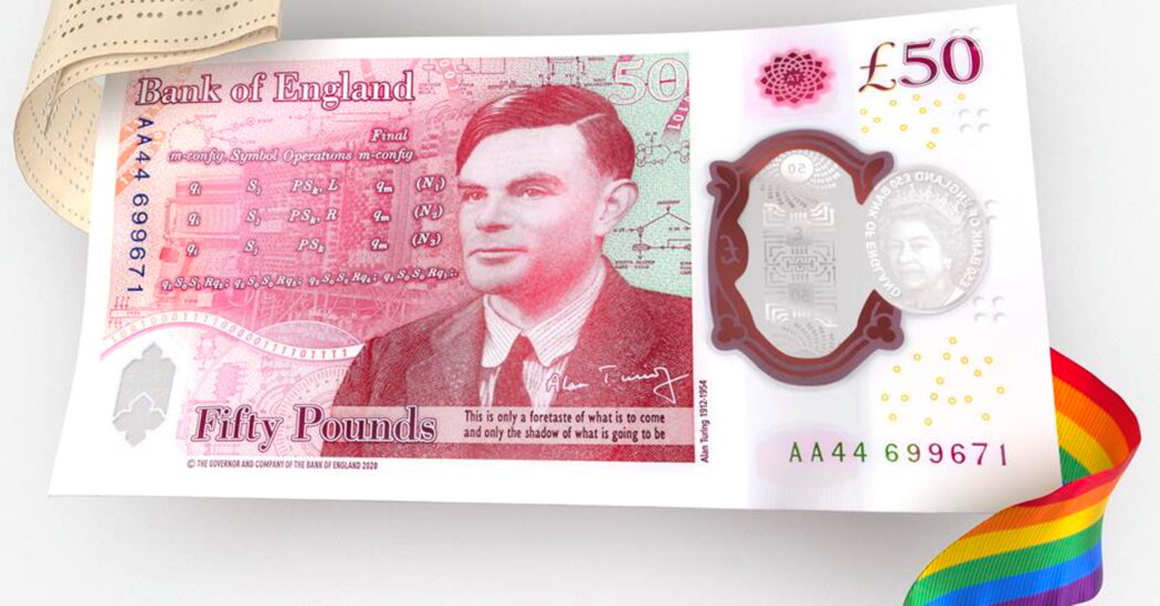 Britain Unveils £50 Bill Honoring Alan Turing, Famed Code Breaker