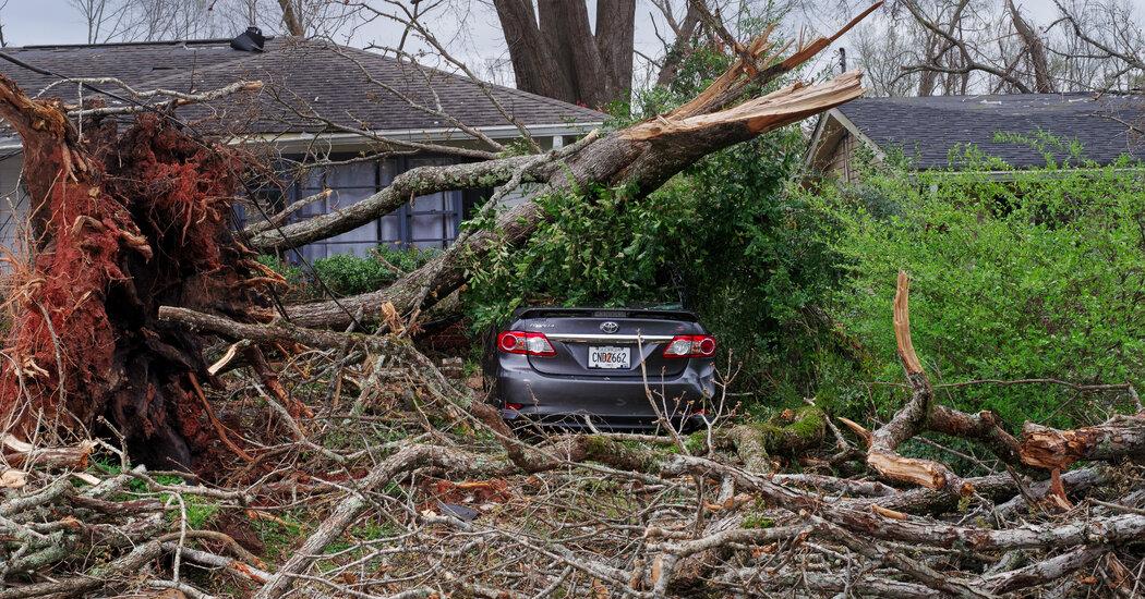 Devastating Tornadoes Batter Alabama, Georgia and Tennessee