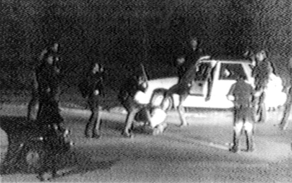 The video of police beating Rodney King in March 1991 was one of the first capturing abuse by an officer. The videos have become key to trials where officers have been accused of misconduct.
