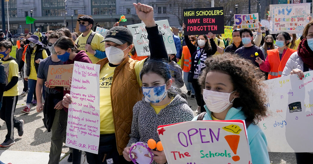 In San Francisco, Turmoil Over Reopening Schools Turns a City Against Itself