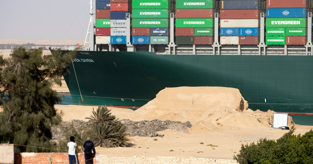 Ship Stuck in the Suez Canal Is Free: Live Updates