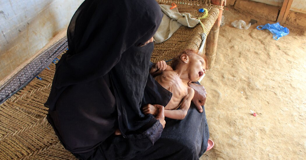 Famine Stalks Yemen, as War Drags On and Foreign Aid Wanes