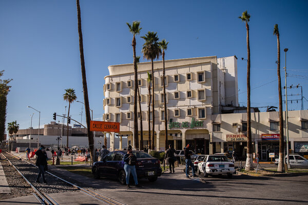 Before crowding into an S.U.V., the migrants had converged in Mexicali, a Mexican border city adjacent to Calexico, Calif.