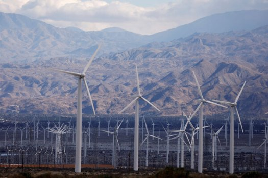 Investors have been focused on the Biden administration's infrastructure spending plan, which includes money to encourage investment in renewable energy, including wind turbines.