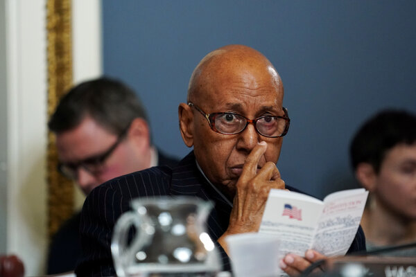 Representative Alcee Hastings, Democrat of Florida, was diagnosed with pancreatic cancer in 2019.