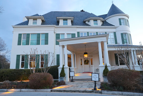 The home underwent extensive renovations, including the installation of a new heating and air system, refurbished wooden floors, and updated chimney liners, the vice president's office said.