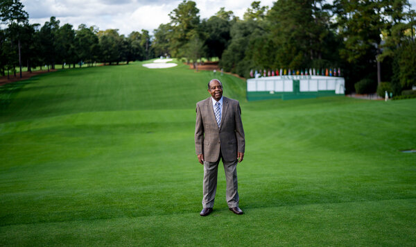Lee Alder became the first black golfer to compete in the Masters in 1975.