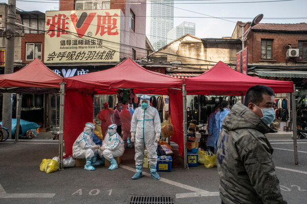 Scientists have yet to establish how the coronavirus got into human circulation in China. A team of health workers tracing a Covid case in January visited a market stall in Wuhan where the infected person had been.