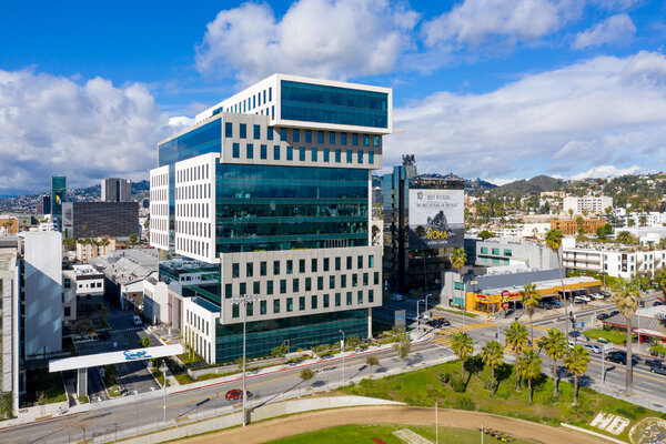 The Netflix office in Los Angeles. The streaming service signed a deal for the exclusive U.S. rights to Sony's films once they leave theaters and premium video-on-demand services.