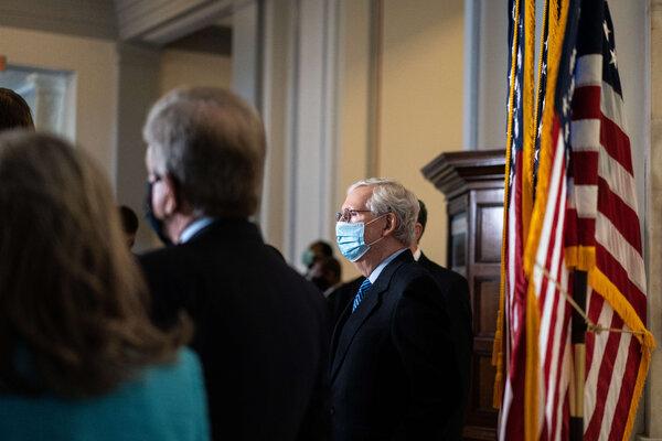 Minority Leader Senator Mitch McConnell on Biden Tax Proposal