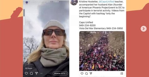 A Teacher Marched to the Capitol. When She Got Home, the Fight Began.