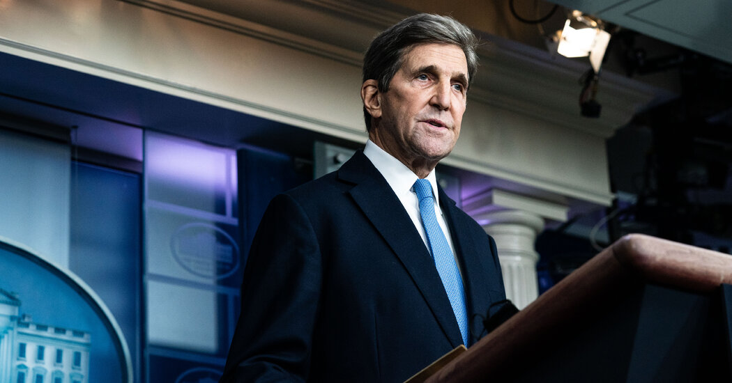 John Kerry Heads to China to Talk Climate