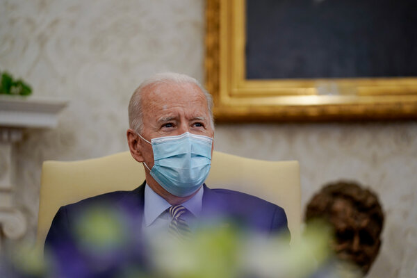 President Biden's overall approval rating in a new Quinnipiac poll is 48 percent, with 42 percent disapproving.
