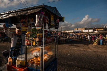 El mercado central de Paraguaipoa
