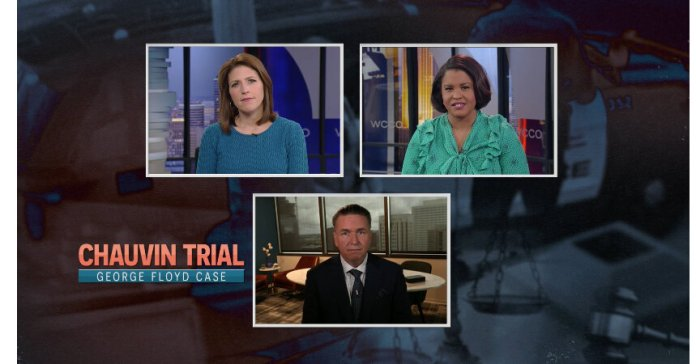 On Minneapolis TV Channels, Wall-to-Wall Coverage of the Chauvin Trial