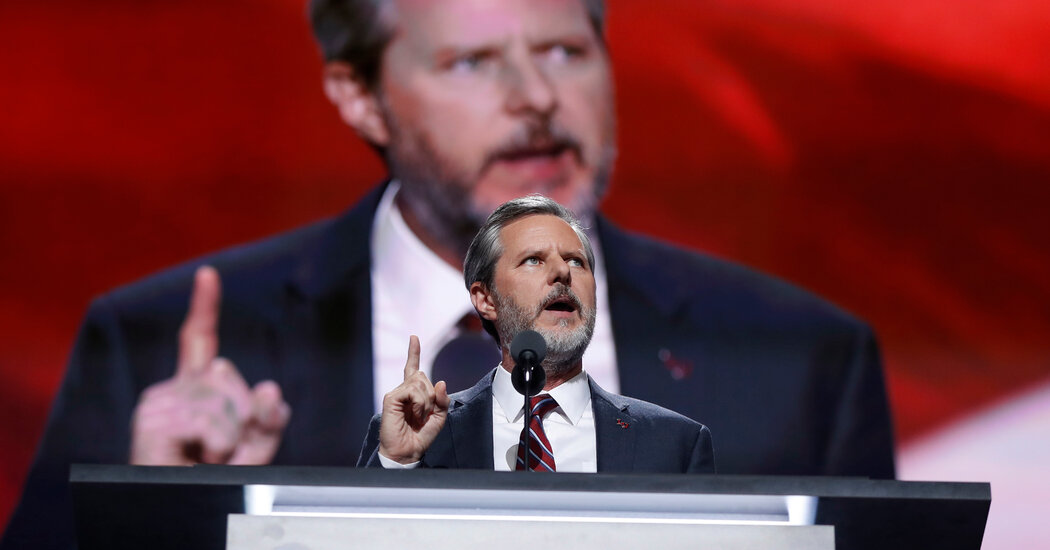 Liberty University Sues Jerry Falwell Jr., Alleging Deception