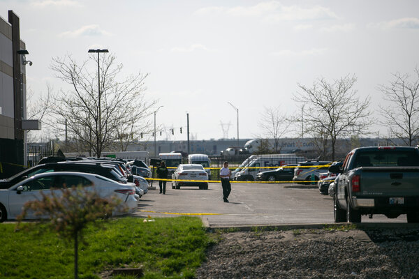 A gunman opened fire at a FedEx facility in Indianapolis on Thursday night, killing eight people and himself.