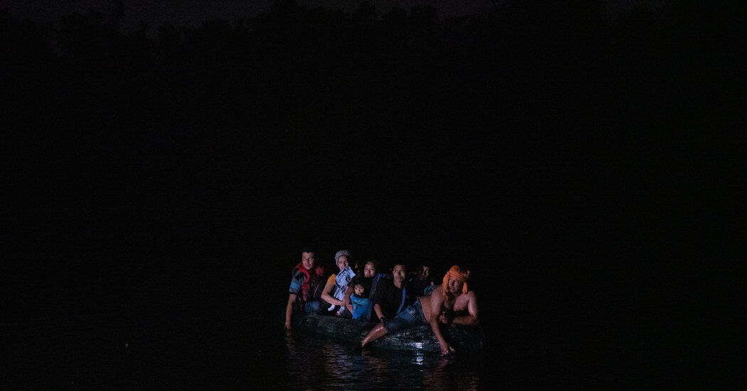 Night Crossings: Scenes From the U.S.-Mexico Border